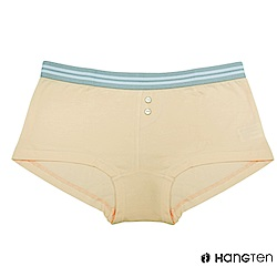 HANG TEN  舒適包臀素色平口內褲_膚(HT-C22001)