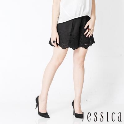 JESSICA - 甜漾女孩蕾絲花邊造型短褲