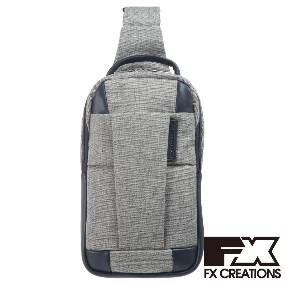FX CREATIONS WEA系列-單肩包-淺灰-WEA69735-21