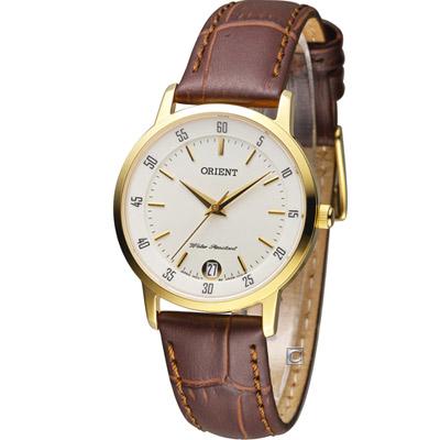 ORIENT 東方錶 美好年代時尚腕錶-白/31mm