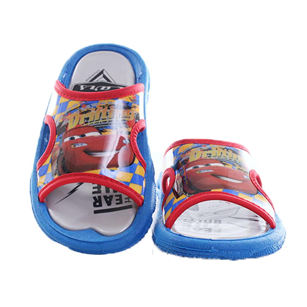 迪士尼閃電麥坤休閒拖鞋 藍 sk0103魔法Baby