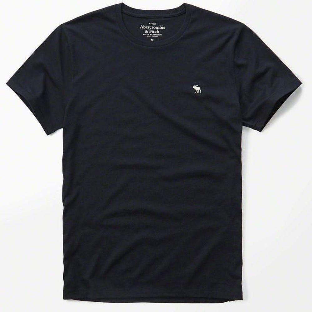AF a&f Abercrombie & Fitch 短袖 T恤 藍色 0607