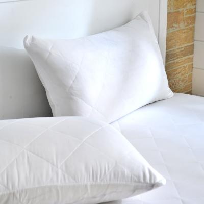 Grace Life 炫彩白 台灣製吸濕排汗信封式保潔枕套一入