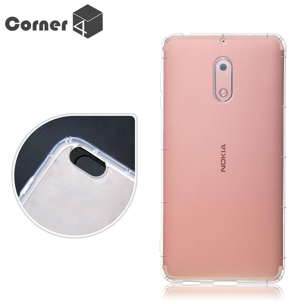 Corner4 Nokia 6 透明防摔手機空壓軟殼