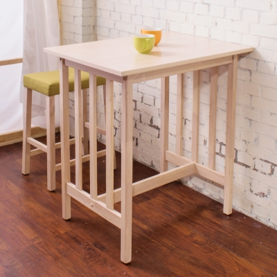 Boden- 簡約吧檯桌(兩色可選)-80x60x87cm