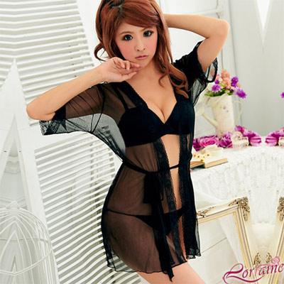 【Lorraine】熾熱召喚!薄紗二件式外罩衫