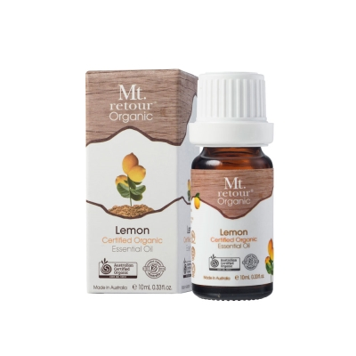 澳洲Mt.retour有機檸檬單方精油 10 ml