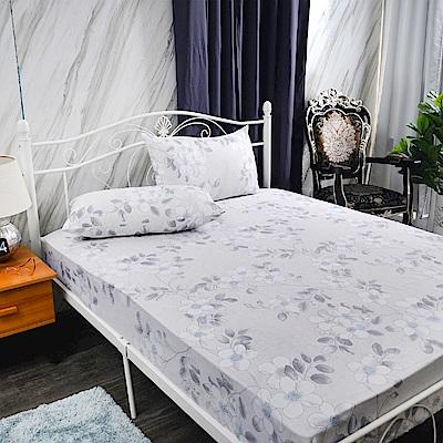 Saint Rose 葉語 雙人吸濕排汗天絲枕套床包三件組