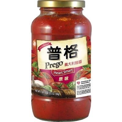 Prego 義大利麵醬-低鈉低脂聰明配方(666g)
