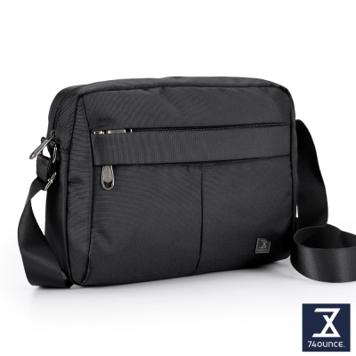 74盎司 輕便側背包[G-113]黑色