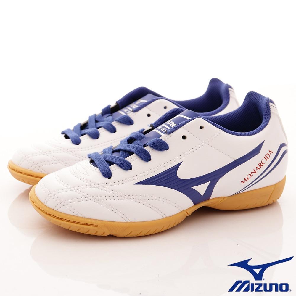 MIZUNO童鞋 MONARCIDA足球款162327白(中大童段)
