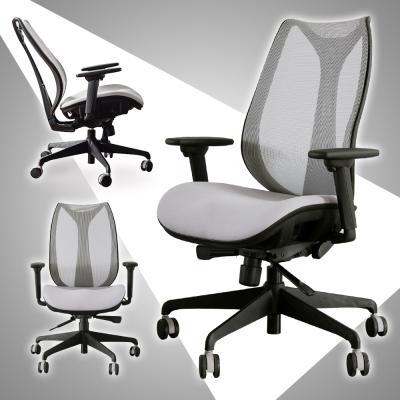 Home Feeling 獨特高彈力人體工學T扶手電腦椅/辦公椅/主管椅