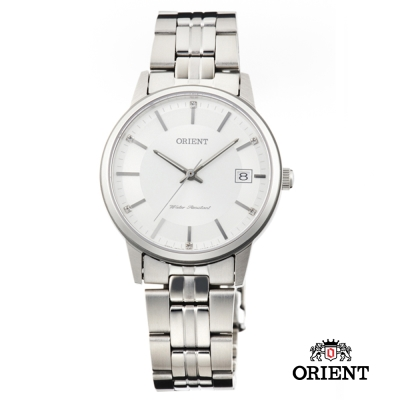 ORIENT 東方錶 SLIM系列 藍寶石鏡面女錶-白色/32mm