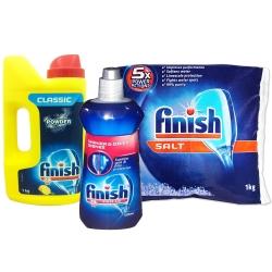 亮碟 洗碗機 軟化鹽+粉劑+潤乾劑