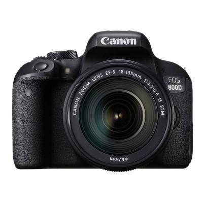 Canon EOS 800D+18-135mmIS STM 望遠變焦鏡組 (公司貨)