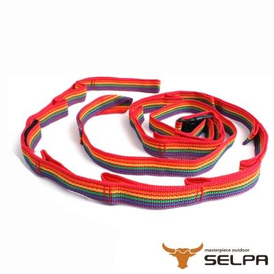 韓國SELPA 繽紛飾品 彩虹掛繩 可伸縮掛物繩