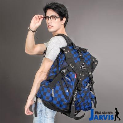 Jarvis 大後背包 休閒多功能-炫彩格調-8817