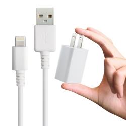 電池王iPhone 6S / 6S PLUS 等專用充電組 (旅充頭+充電傳輸線)