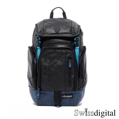 Swissdigital-新雅爵士後背包-黑