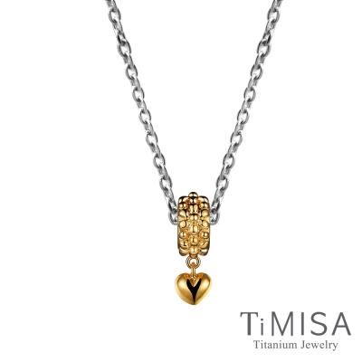 TiMISA 點點心(雙色可選) 純鈦項鍊06I