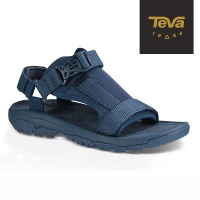 TEVA 美國 男 Hurricane Volt 經典緹花織帶涼鞋 (藍)