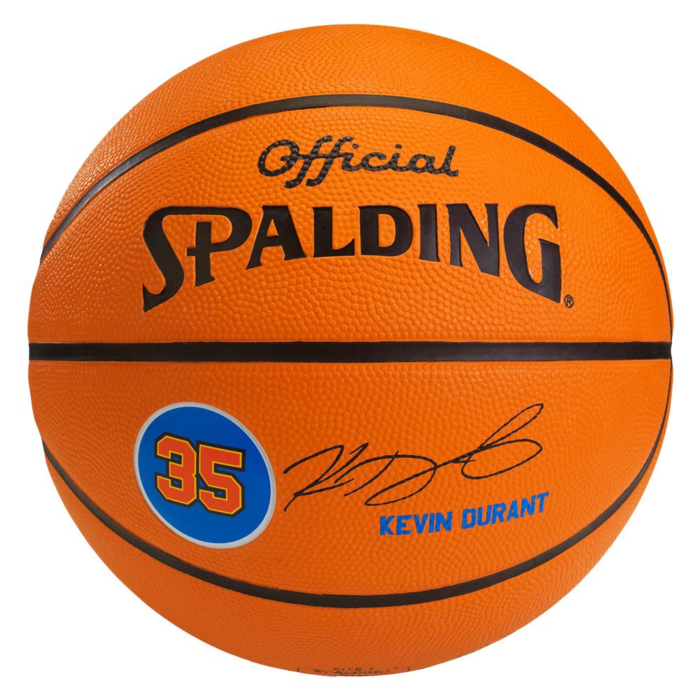 SPALDING NBA 球員球 雷霆隊 杜蘭特 Durant 籃球 7號