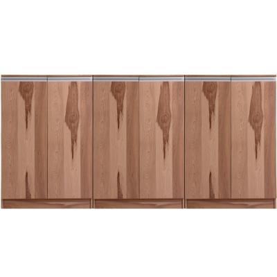 aaronation 雷思克設計師180~240cm鋁手把矮鞋櫃-量身訂製系統家具