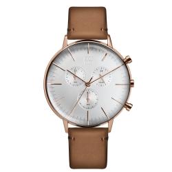 ZOOM REFINE 純粹經典計時腕錶-玫瑰金 /44mm