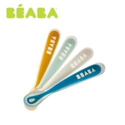 奇哥 BEABA 寶寶矽膠軟湯匙4入組