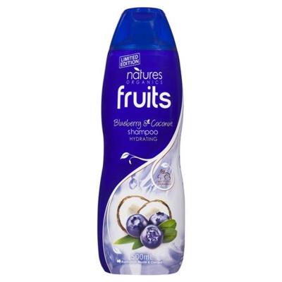 澳洲Natures Organics 植粹滋養洗髮精(椰子藍莓)500ml