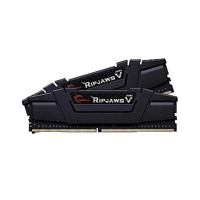 芝奇 G.SKILL RipjawsV DDR4 3000 8GBx2 超頻記憶體(黑)