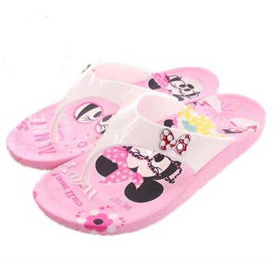 迪士尼米妮夾腳拖鞋 粉 sk0131 魔法Baby
