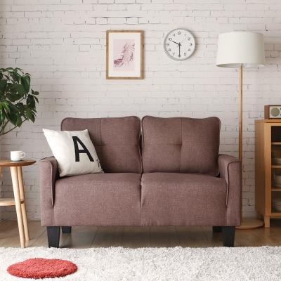 H&D 妮蒂亞簡約舒適雙人沙發-3色可選