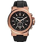 Michael Kors 城市菁英計時手錶(MK8184)-黑/48mm