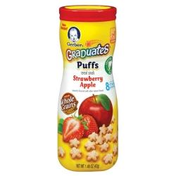 嘉寶 星星餅乾-草莓蘋果(42g)
