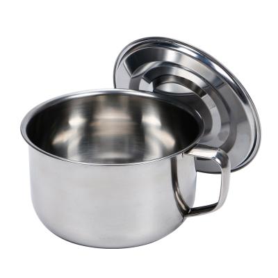 HIKARI日光生活  不鏽鋼麵碗 / 15X8.5CM