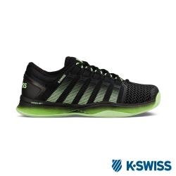K-SWISS Hypercourt 2.0專業網球鞋-男-黑/綠漸層