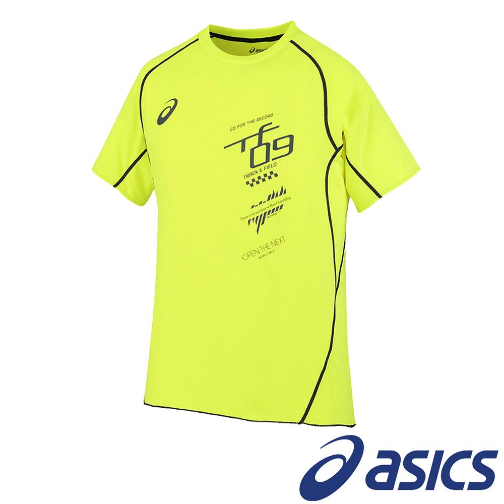 ASICS 亞瑟士 短袖剪接T恤 XT592N-05