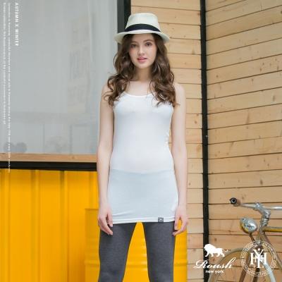 ROUSH 女生細肩帶萊卡棉長版背心 (3色)