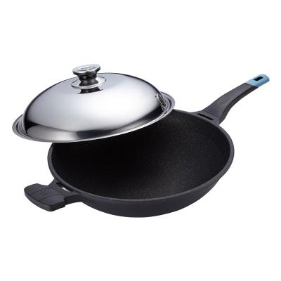 PERFECT  日式黑金鋼炒鍋- 40 cm附蓋