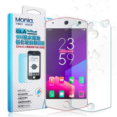 MONIA Meitu 美圖 M8 日本頂級疏水疏油9H鋼化玻璃膜