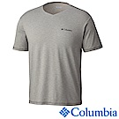 Columbia哥倫比亞 男-防曬50快排短袖上衣-灰色 UAE00680GY