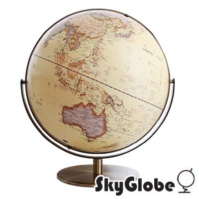 SkyGlobe 17吋超大古典仿古地球儀