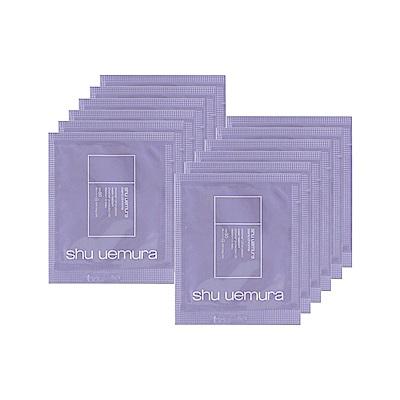shu uemura植村秀 4D透白UV輕感防護乳(SPF50/PA++++)1ml*12