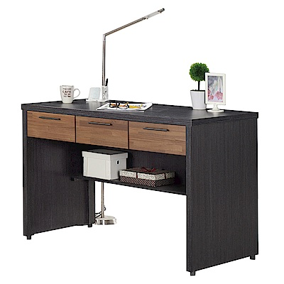 AT HOME -雷恩4尺雙色三抽書桌 120x60x80cm