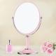 幸福揚邑 8吋超大時尚化妝放大雙面鏡/桌鏡-粉紅 product thumbnail 1