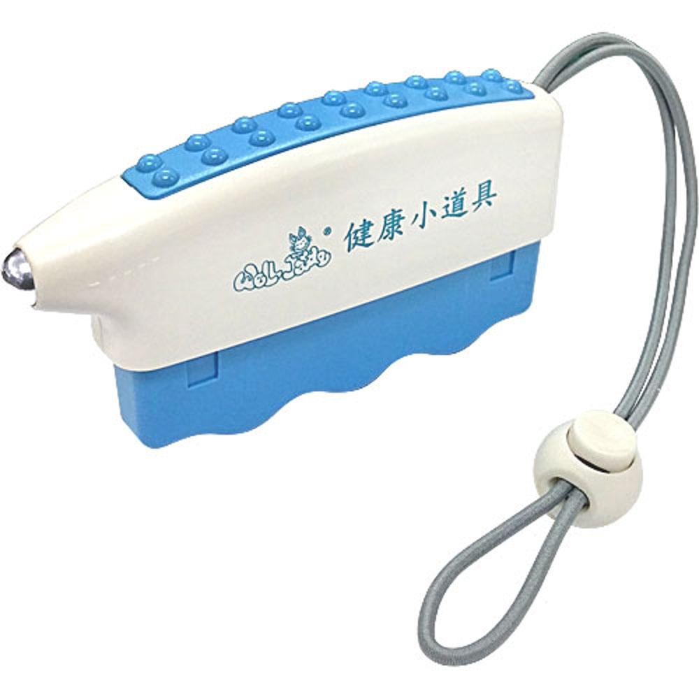 三合一迷你握力器-藍色(附吊掛繩)