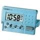 CASIO 輕巧隨身型數字電子鬧鐘PQ-10D-2(藍) product thumbnail 1