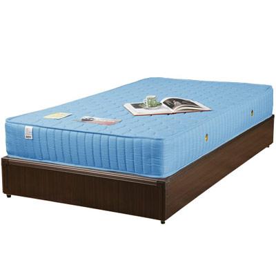 《Homelike》麗緻3.5尺床台+獨立筒床墊-單人(四色可選)