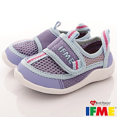 IFME健康機能鞋 排水速乾款 EI00377淺紫(寶寶段)